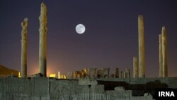 The ancient ruins of Persepolis is one of Iran's 22 UNESCO World Heritage sites. (file photo)