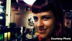 Марија Грубор, студентски активист.