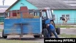 Механізоване подвір'я у селі Городець Шкловського району