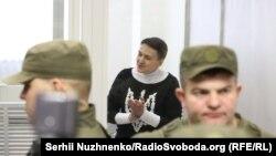 23 березня суд арештував Надію Савченко до 20 травня