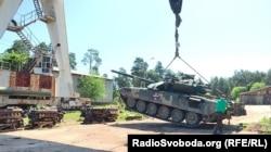 Зважування танка Т-72 АМТ