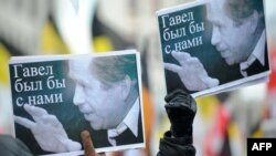 December 18: First anniversary of the death of former Czech President Vaclav Havel