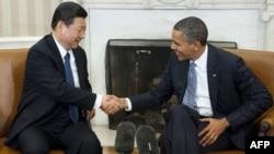 Си Цзиньпин ва Барак Обама.