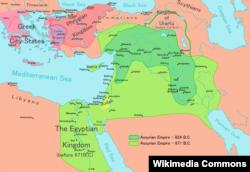 Жаңы Ассирия кемелине жетип турган кез.