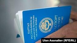 Kyrgyzstan Bishkek Passport Illustration Bribe Generic May 2016
