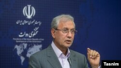 Ali Rabiei, spokesperson of President Hassan Rouhani's administration. FILE PHOTO