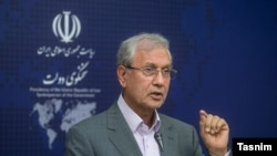 Ali Rabiei, spokesperson of President Hassan Rouhani's government. FILE PHOTO