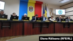 Члены Центральной избирательной комиссии Молдовы.