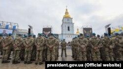 Участь Президента у церемонії перейменування Високомобільних десантних військ у Десантно-штурмові війська та встановлення Дня Десантно-штурмових військ ЗСУ, 21 листопада 2017 року