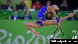 Виступ української гімнастки Ганни Різатдінової на Олімпійський іграх в Ріо-де-Жанейро, Бразилія, серпень 2016 року (архівне фото)