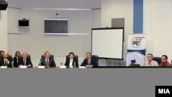 """Kонференција на тема """"Екстерното тестирање на студентите: предизвиците и можностите""""."""