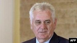 Претседателот на Србија Томислав Николиќ