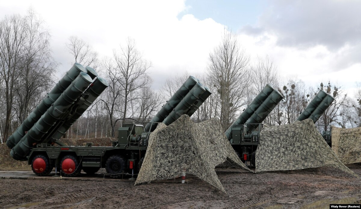Turkey Says First Parts Of Russian S-400 Missile System Delivered