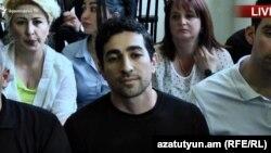 Ռոբերտ Քոչարյանի որդին՝ Լևոն Քոչարյանը դատարանում, Երևան, 15-ը մայիսի, 2019թ.