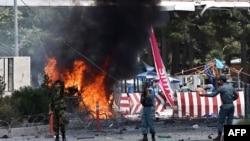 Pamje nga eksplodimi i sotëm në Kabul
