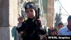 İŞİD-in təbliğat videosunda uşaq