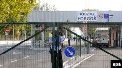 на пограничном переходе Хоргош-Рошке