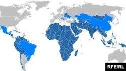 Земјите членки и посматарачи на Движењето на неврзаните