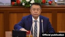 Спикер парламента Чыныбай Турсунбеков.
