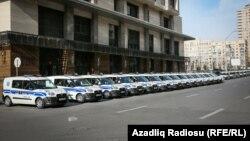 Ադրբեջան - Ոստիկանական ավտոմեքենաներ, արխիվ