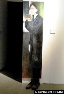 """Выставка """"Образ врага"""" на Винзаводе. Александра Дыхне. Автопортрет"""