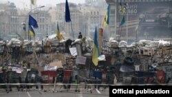 Кадр з фільму Сергія Лозниці «Майдан»