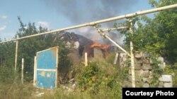 На запит Радіо Свобода в штабі ООС повідомили, що «розбираються» з ситуацією і не можуть ані підтвердити, ані заперечити повідомлення про пожежу
