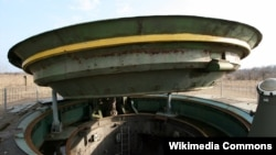 Архивска фотографија, ракетен систем во воениот музеј на Украина, 8 март 2008