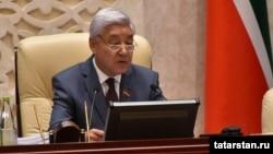 Фарид Мухаметшин - председатель Госсовета Татарстана