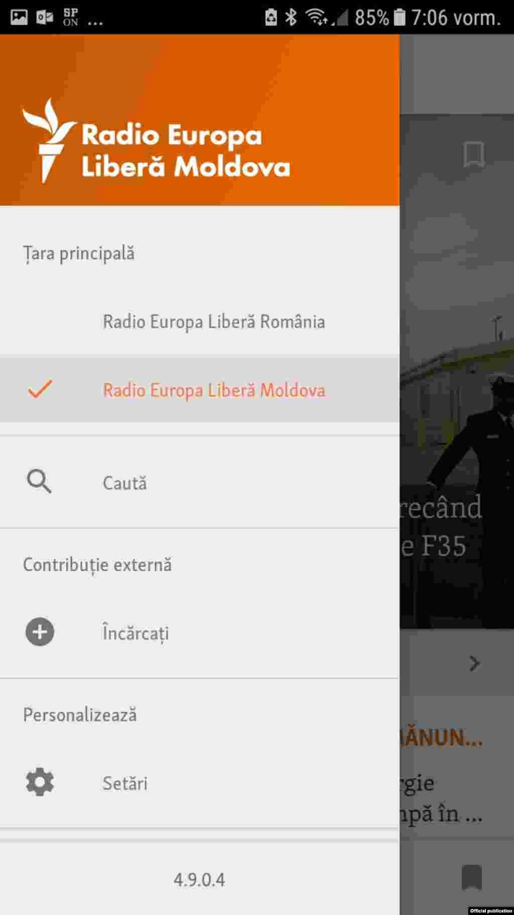 Moldova - aplciatie mobil 2 2019