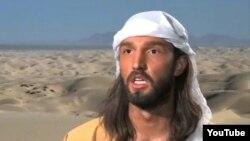 """Снимка од видеото """"Невиноста на муслиманите""""."""
