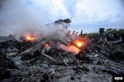 MH17-nin qalıqları, 17 iyul, 2014