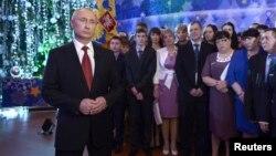Новогодишното обраќање на Путин.