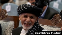Afghan President Ashraf Ghani during a recent campaign event in Kabul.