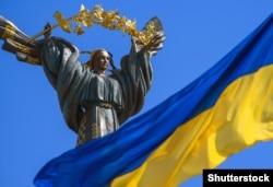 Монумент Незалежності – тріумфальна колона в Києві, присвячена Незалежності України