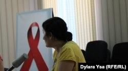 Феруза Жанибекова, мать ребенка, зараженного ВИЧ. Шымкент, 26 августа 2016 года.