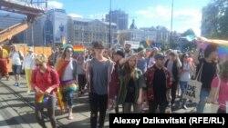 """Парад равенства"" в Варшаве"