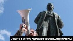 В'ячеслав Сівчик на день проголошення незалежності Білорусі у Києві, 25 серпня 2011 року