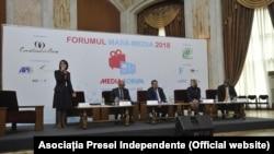 La reuniunea presei moldovene