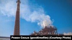Промышленная зона в Усолье-Сибирском