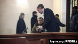 Crimea, Simferopol - Ismail Ramazanov in the court, 24Jan2018
