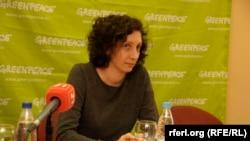 """Вероника Дмитриева, жена активиста """"Гринпис"""" Андрея Аллахвердова"""
