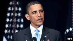 Претседателот на САД Барак Обама