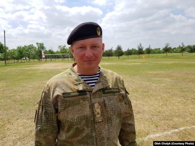 Генерал-майор Юрій Содоль, Херсонська область, 16 травня 2018 року