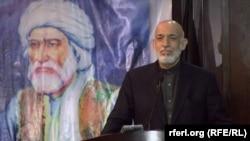 د افغانستان پخوانی ولسمشر حامد کرزی