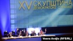 Beograd: Vanredna izborna skupština Demokratske stranke, 25. novembar 2012.