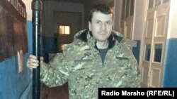 Украина -- Инарла Мунаев Iиса вийначул тIаьхьа Дудаев ЖовхIаран цIарах батальон шен куьйгалле эцна майора Осмаев Адама.