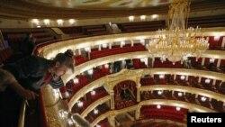 """Главный зал Большого театра снова стал """"скрипкой"""""""