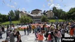 Երեխաների տոնը՝ Ազգային ժողովի այգում