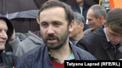 Один из организаторов автопробега Илья Пономарев.